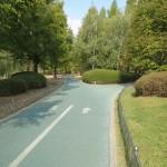 Bike path in Lake Park