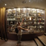Caline showcasing whiskeys of the world