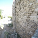 The side of a tower wall in Byblos