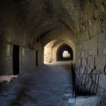 Inside tower in Byblos