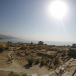 View from a tower in Byblos