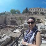 Roman baths and parliament