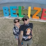 Belize city sign