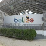 Multipurpose stage in Belize city