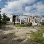 Former hotel - burned down