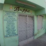 Typical food found throughout Belize city