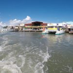 Boat taxi to Caye Caulker