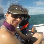 Boat ride to dive Tackle Box